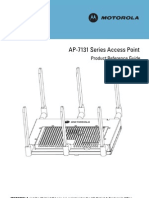 Motorola AP-7131 Series Access Point Product Reference Guide (Part No. 72E-139344-01 Rev. B ) 13934401b