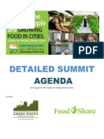 Ur Bag Summit Draft Detailed Agenda