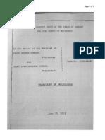 Horman v. Horman 6/25/2012 Transcript