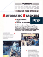 Pomini 25- Automatic Stackers