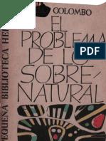 Colombo, Giuseppe - El Problema de Lo Sobenatural