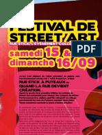 Rue stick 2e édition