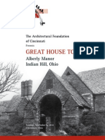2011 Great House Tour Pamphlet