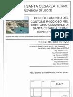 Progetto definitivo consolidamento porto miggiano