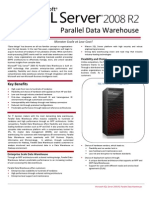 2008 SQL R2 - Parallel Data WareHouse