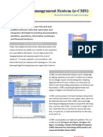 eCMS Brochure