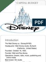 Disney Capital Budget