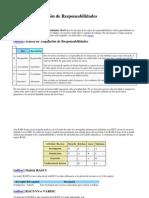 Matriz de Asignación de Responsabilidades RACI