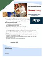 Jeevan Tarang - Plan Presentation-new Born Child