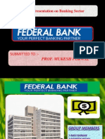 Federal Bank Presentation (Service Marketing) (2)