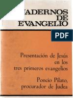 Cuadernos de Evangelio - 01 Jesus en Los Evangelios