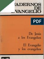 Cuadernos de Evangelio - 03 de Jesus a Los Evangelios
