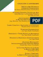 Nacion o Naciones Libro Bolivia