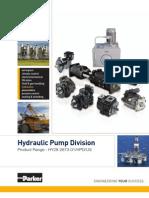 Parker HPD Product Bulletin (HY28-2673-01)