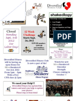 September 2012 Newsletter