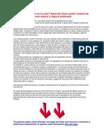 Como Quitar Los Lunares de La Cara PDF