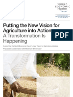 WEF FB NewVisionAgriculture HappeningTransformation Report 2012