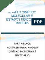 PPT - Modelo cinético molecular