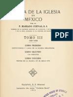 Cuevas, Mariano - Historia de La Iglesia en Mexico 03