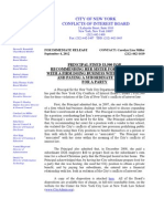 COIB Press Release & Disposition (DOE) (1)