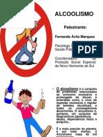 Palestra Sobre ALCOOLISMO