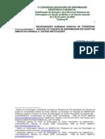 Atendimento Às Necessidades Humanas Básicas De Puérperas Pós Cesariana analise do cuidado de enfe
