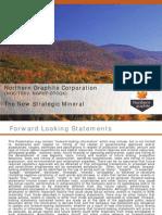 Graphite - The New Strategic Mineral