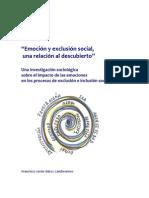 Emoción y Exclusión Social, una relación al descubierto