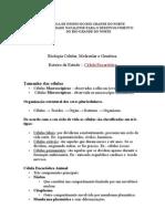 Roteiro-celula Eucariotica 3 Genetica Psicologia