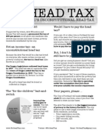 One Page Fact Sheet for the Portland Arts Tax