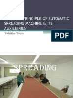 automated spreding machine and auxiliaries