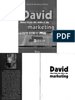 David- uma lição de vida e marketing
