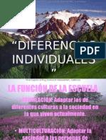 DIFERENCIAS INDIVIDUALES
