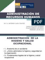 Admon de La Higiene y Salud Ocupacional