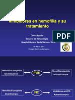 3ea7Inhibidores en Hemofilia y Su Tratamiento
