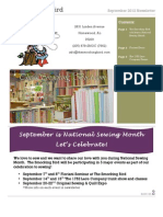 2012 Fall and Winter Newsletter