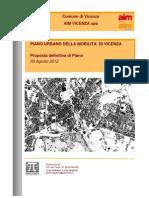 Piano Urbano della Mobilità - Vicenza 2012