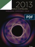 2013 APS Journals Catalog