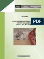 Evaluacion Rh Superficiales Rio Pampas