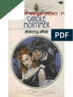 Carole Mortimer - Lifelong Affair (b&w) (PDF)