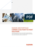 RADWIN 2000 Portfolio Brochure 2.7 - English