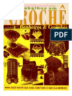 revista crochê