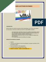 Les études en France