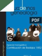 Cuadernos de Genealogía nº10
