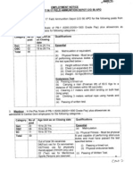 Ministry of Defence Recruitment 2012
