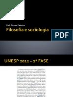 Filosofia e Sociologia - Vestibular
