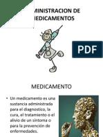 Administracion de Medicamentos