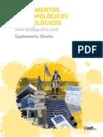 2 - Fundamentos Antropológicos e Sociológicos - Suplemento_ Direito