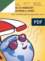 El sol, la radiación ultravioleta y usted -EPA