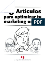 28 artículos para optimizar el marketing online